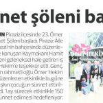 28 Mayıs 2016 – Karadenizde İlk Haber