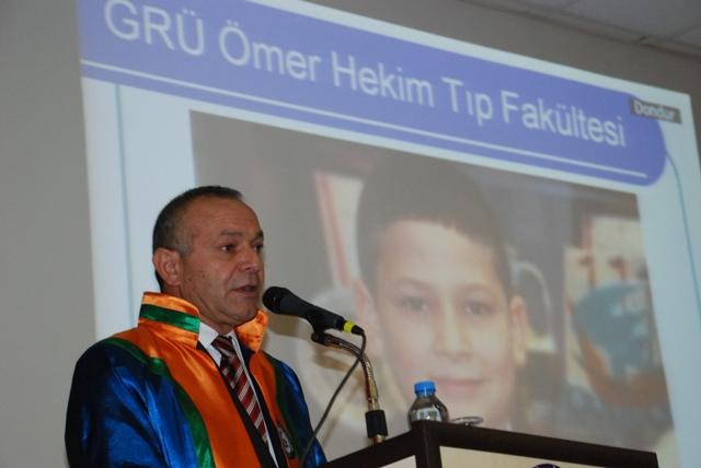 Öner Hekim'e Fahri Doktora
